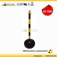 WB510A Hot Sale PE Traffic Collapsible Post