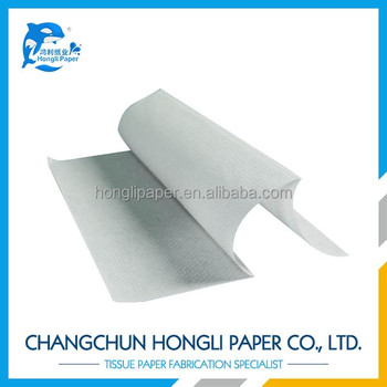 recycled pulp multi-fold paper hand towel