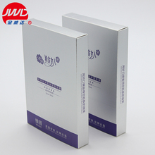 Recycled cosmetic paper box face mask packaging manufacturing