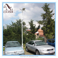 New design Stretch formed aluminum Solar street light with solar power led source