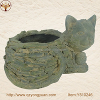 Y510246 Frog Flower Pots wholesale