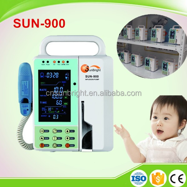 CE approved large screen Multi-functional medical infusion pump