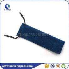 Good workmanship drawstring velvet pen pouch