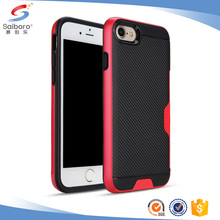 Mobile phone accessories carbon fiber for iphone 7 phone case