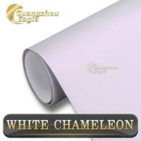 2015 New Design 5*65ft Matte Chameleon Pearl To Purple Car Wrapping Vinyl Foil