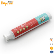 Hot Sale Empty beauty cap ABL laminated toothpaste tube