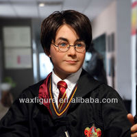 silicone wax statue of famous star Harry Potter