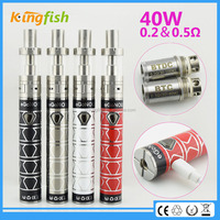 New product ego now arctic 40w battery clear choice electronic cigarette with factory price