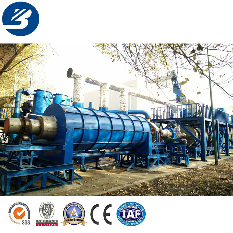 Grape stalk carbonization machine hydrothermal carbonization corn straw carbonization machine with CE ISO