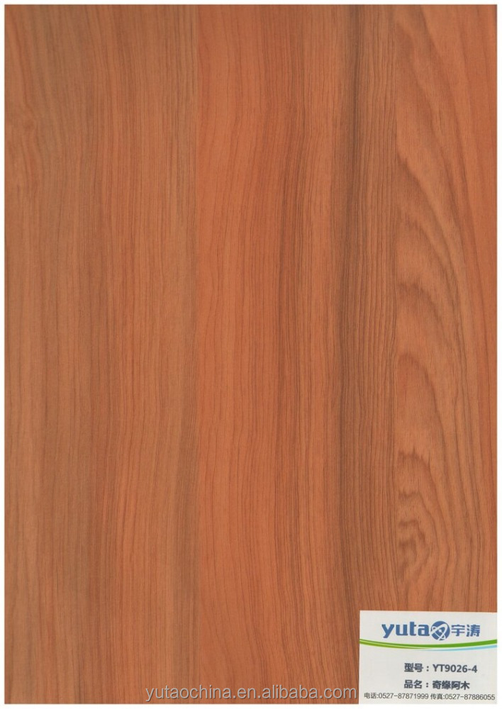 YT 9026 decorative melamine film laminated door paper