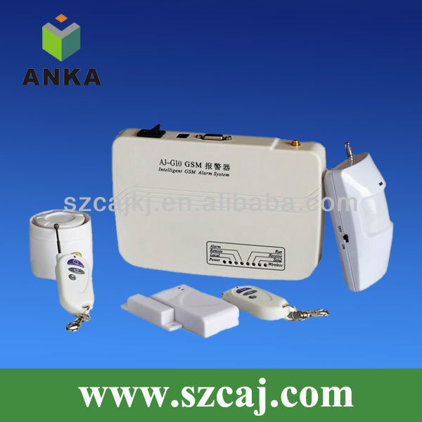 Low cost wireless gsm sms alarm system