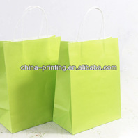 2013 New arrival high quality packing color paper carry bags