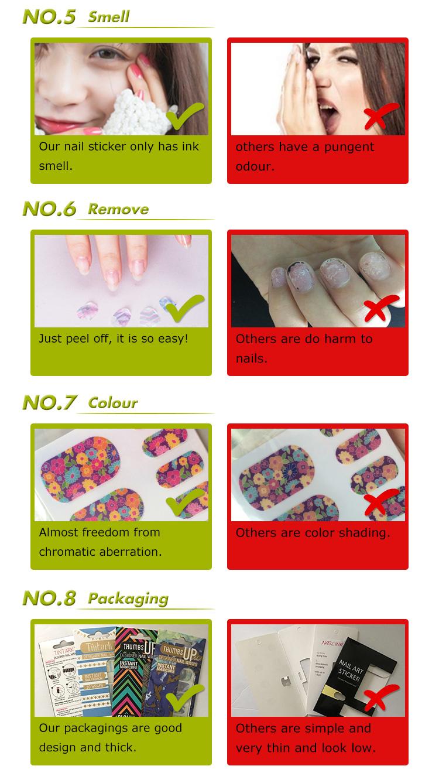 sticker for nail art