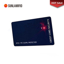 Free sample Rewritable Led Smart Card HF ISO14443A MF 1K S50 Chip NFC Contactless Blank Plastic Pvc Smart RFID Card for sales