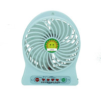 2015 hot sale rechargeable battery operated fan mini desktop mist cooling fan