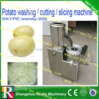 multifunctional electric cassava/potato chip spiral cutting machine