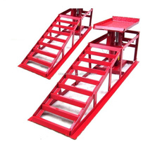 Solid Steel Auto Ramp Sets Car Service Ramps