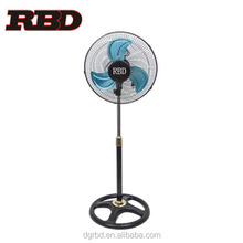 Hot Selling 18inch Industrial Electric Stand Fan Air Conditioner Free Floor Standing Fan with Metal Blade Grille
