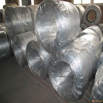 Hot dipped Galvanised Wire (factory)