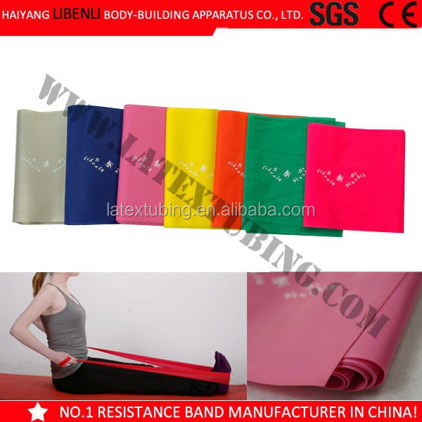Fitness Resistance Latex Stretch Bands