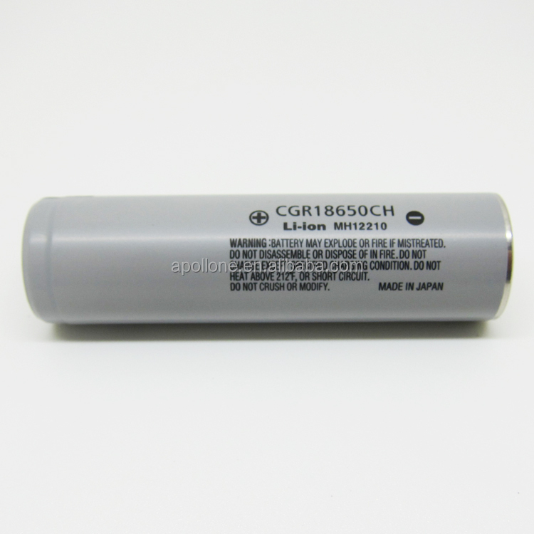 Hot selling CGR18650CH Original Rechargeable 18650 battery for vape/e-bike
