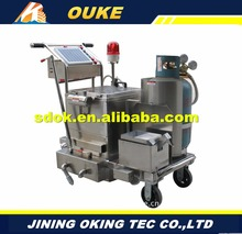 pavement and asphalt machine for high elastic crack sealing paste