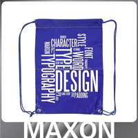 Guangdong High quality!!! polyester shopping bag with long handles for promotion
