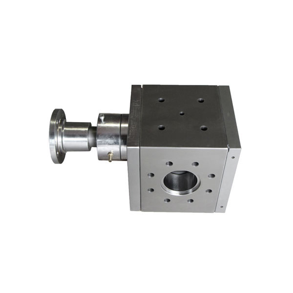 Stainless Steel melt pump for plastic extruder