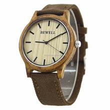 2018 mix color solar natural wood handmake fashion watch bewell sandalwood wrist watches
