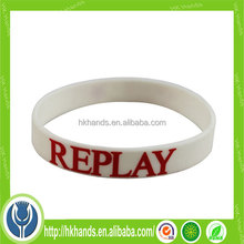 most popular promotional gift! sport wristband QR code custom brand logo printing colorful custom silicon wristband