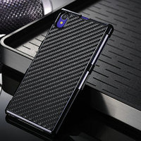 Carbon fiber cover for sony L39H,anti scratch quality leather cover for sony L39H,original hard case for sony z1