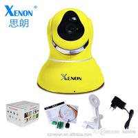 PT WIFI night vision IP Camera/support iphone/ipad/andriod for home 720P H.264