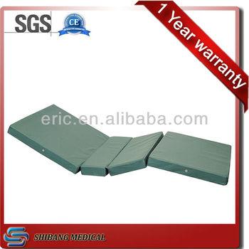 4 folding durable hospital waterproof foam mattress - Colchon de futon ...