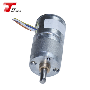 Mini electric stepping geared dc motor 12v 20mm