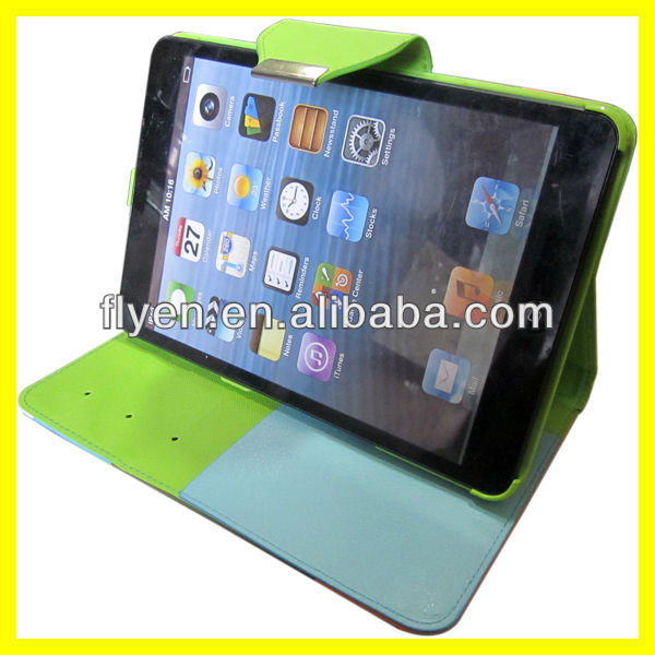 New PU Leather Wallet Flip Pouch Stand Case Cover For7.9 inch Apple ipad mini