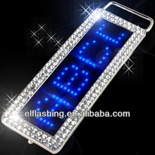 2018 new led belt buckle led message buckle multicolor led belt buckle