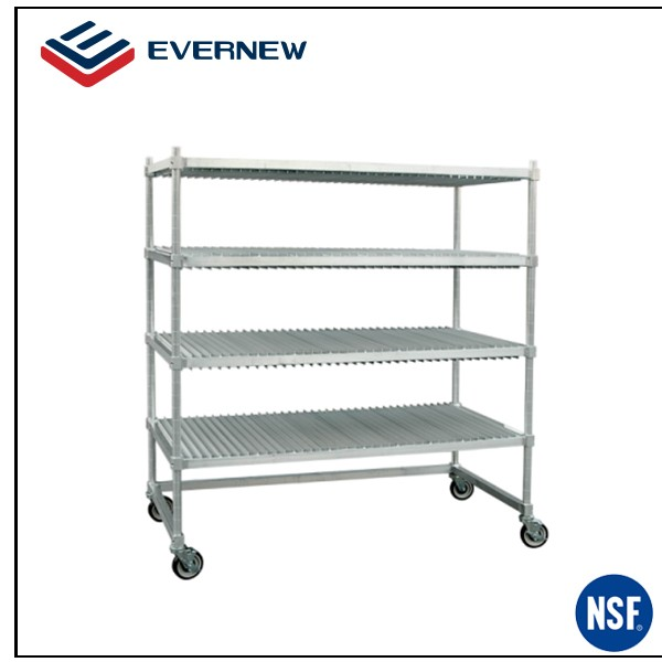 mobile metal shelf plate drying rack