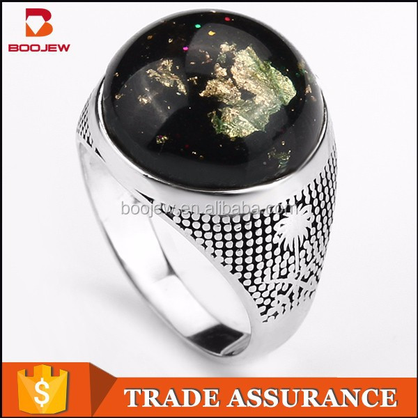Indonesia new products jewelry 925 sterling silver mood rings mans silver ring wholesale in alibaba website