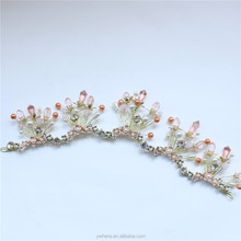 Popular Comfortable Bridal Wedding Crystal Tiara Headband