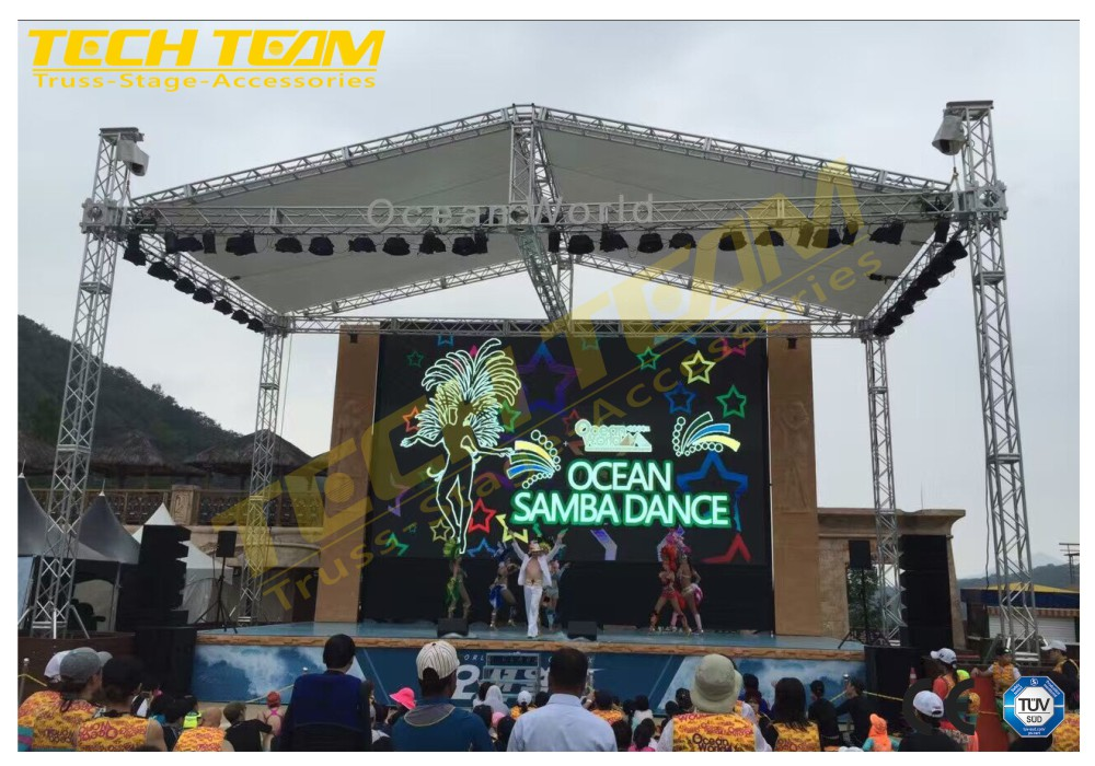 High Quality Truss Stage For Outdoor Event