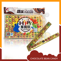 Colorful tasted candy bean chocolate