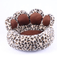 Bear claw shaped luxury dog bed pet bed