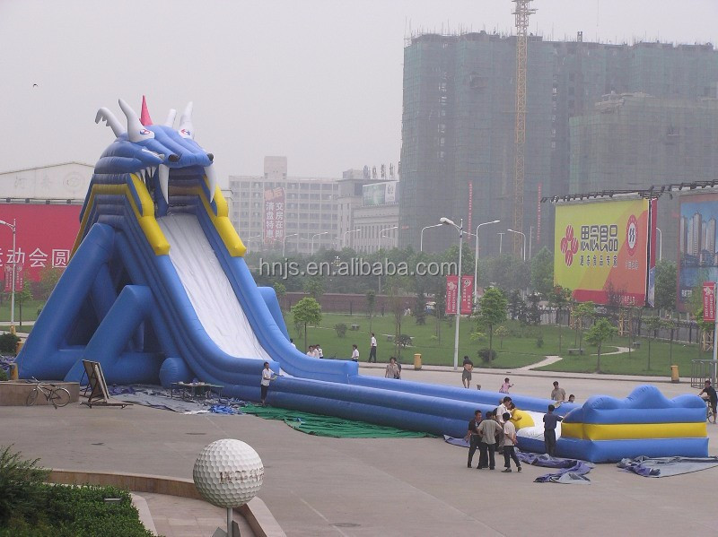 Big kahuna inflatable water slide for shopping mall