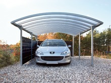 metal attached carport for car with new design and low price