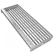 Hot sale low carbon steel galvanized stair treads