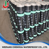 china supplier cheap construction materials asphalt roll for roof 3mm