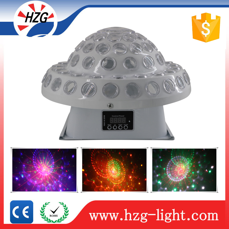2016 Hot sale LED Mini Mushroom Stage RGB laser Projector Sound Mixer/static mixer Mushroom Effect Light