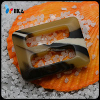 new style resin belt buckle for coat belt