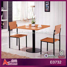E0732 modern cheap bbq table and chairs set