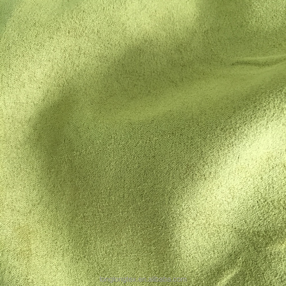 100% polyester woven double sided suede <strong>fabric</strong>